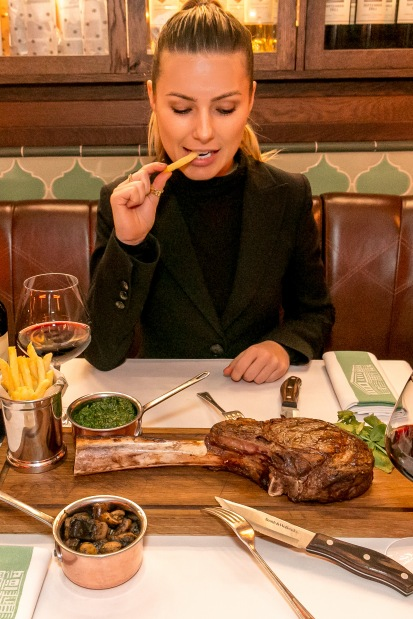 Smith & Wollensky London - Tomahawk Steak Launch (Mailout and Social)